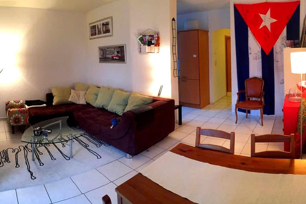 Home away from home - a quiet sister-shared flat - Zürih - Daire