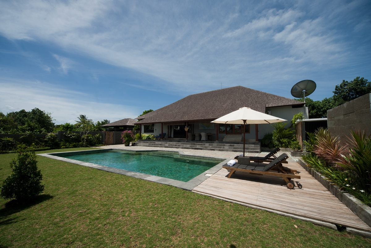 Villa close to beach and ricefields