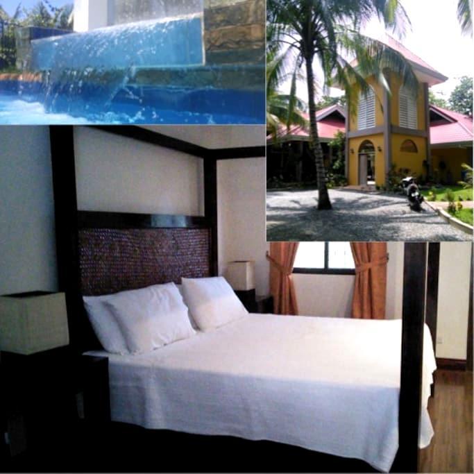Villa Palms I - Catarman Dauis - Bed & Breakfast