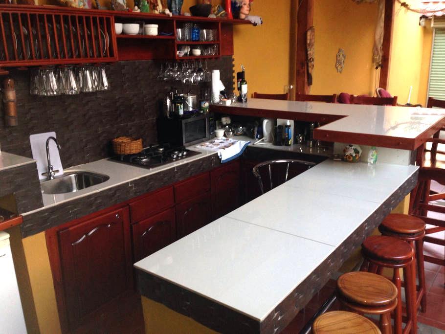 Private Room!. Kitchen/bar - San Isidro de El General - Townhouse