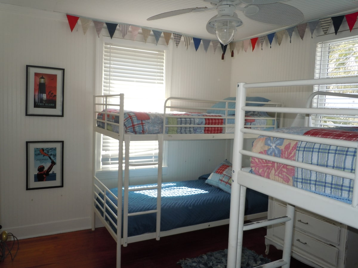 Second floor kids room 4 twins.
