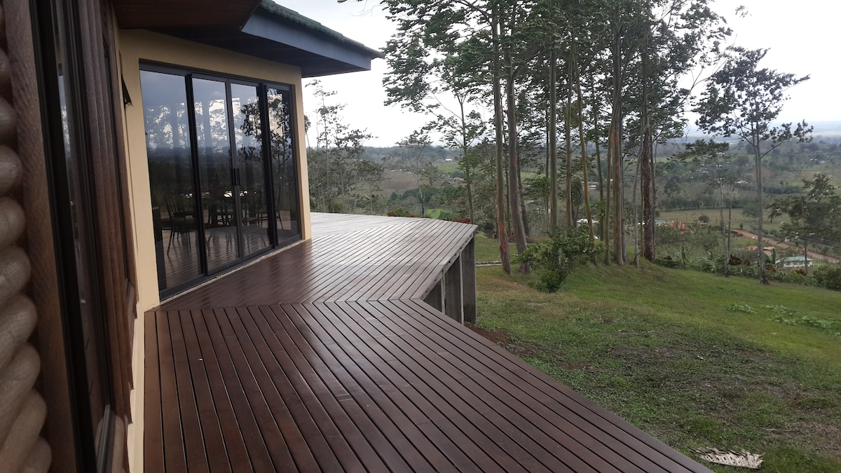 From this deck you have spectacular view!!!
