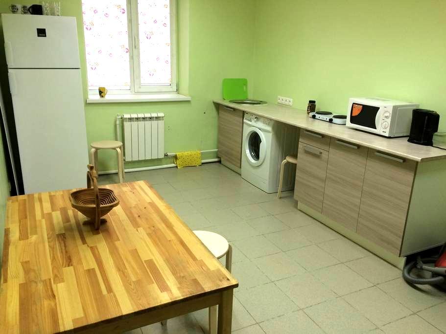 Большая квартира с отдельным входом и парковкой - Volokolamsk - Daire