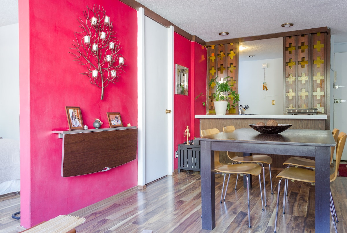 Nice and cozy apartment in Polanco