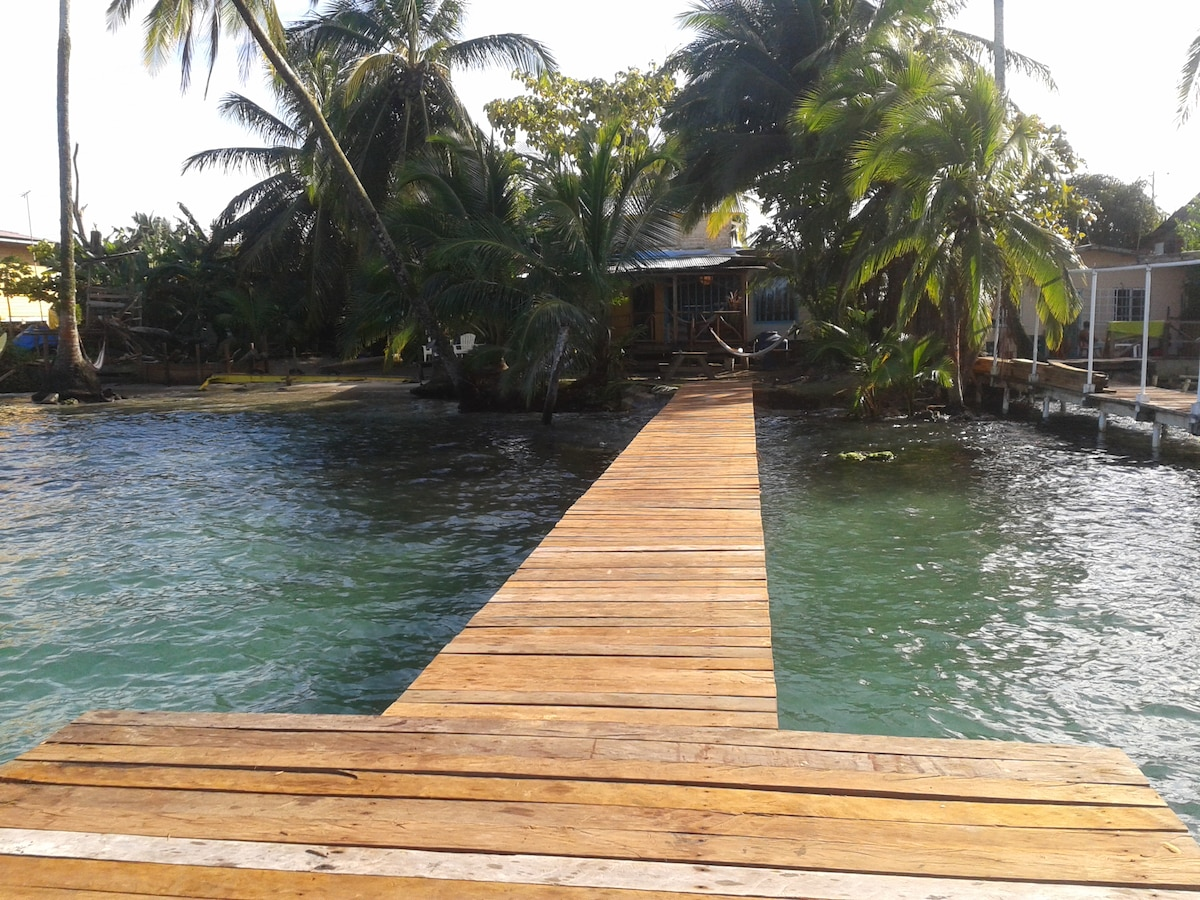 The Bocas Beach House is the best!