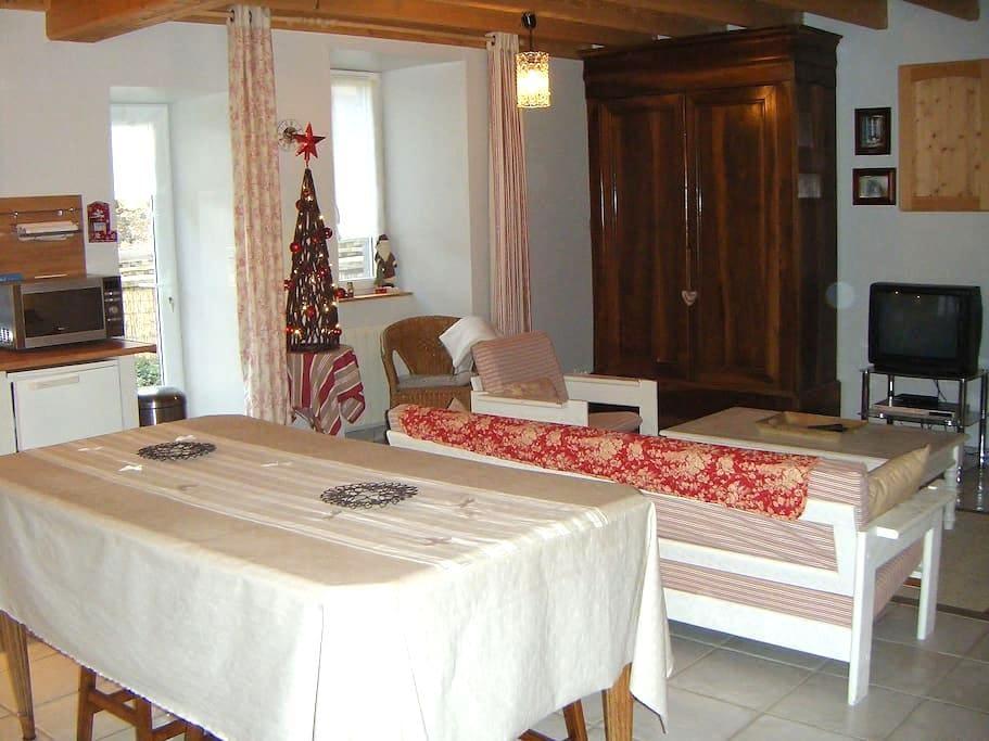 Chaleureuse petite maison au cœur des volcans - Aurières - Haus