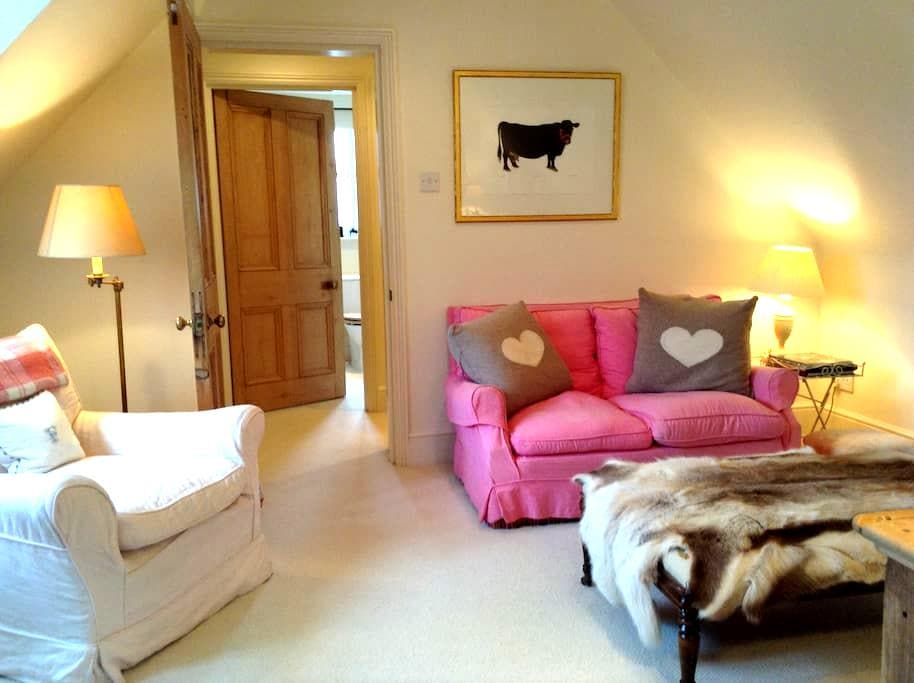 Cozy flat in Cotswolds with views - - Paxford - Apartamento