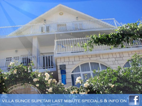 Welcome to Rooms Sunce Island Residence in Supetar - great place for rest and relaxation