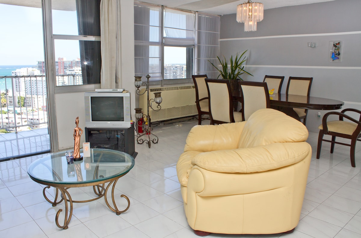 2 br City and Ocean View Penthouse