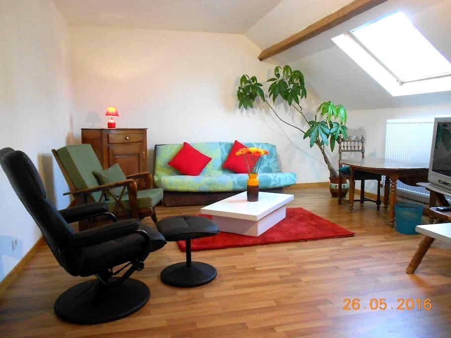 campagne, studio tout confort - Bazuel - Appartement