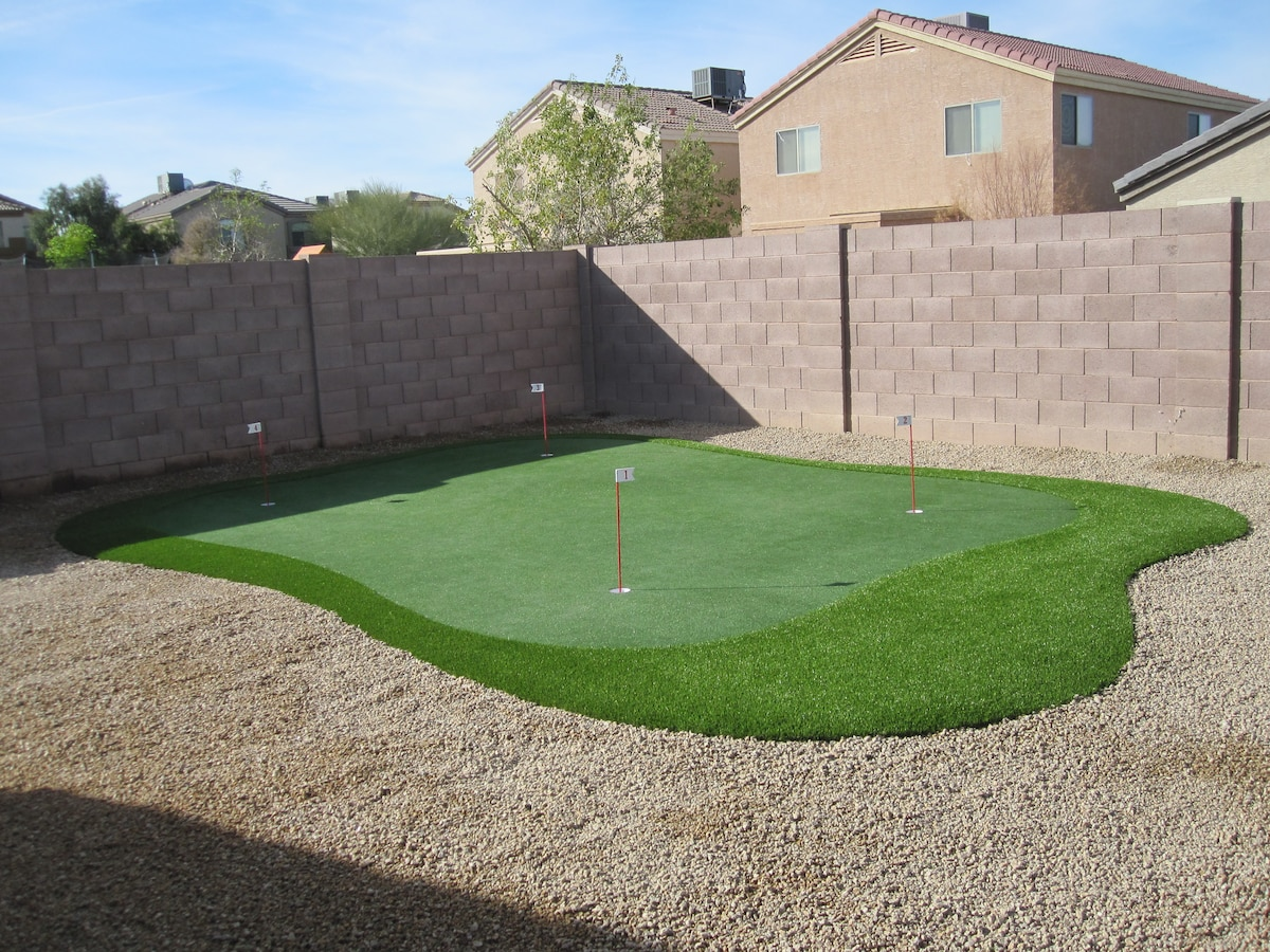 Your Own Private Putting Green