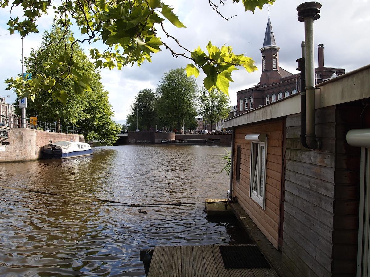 "houseboat ""Annema"", just beautiful"