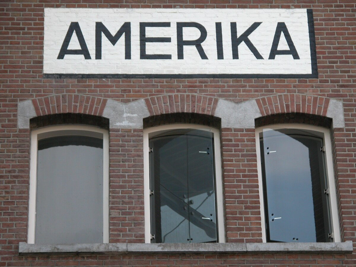 """The apartment is located in the """"Amerika"""" part of the former warehouse"""