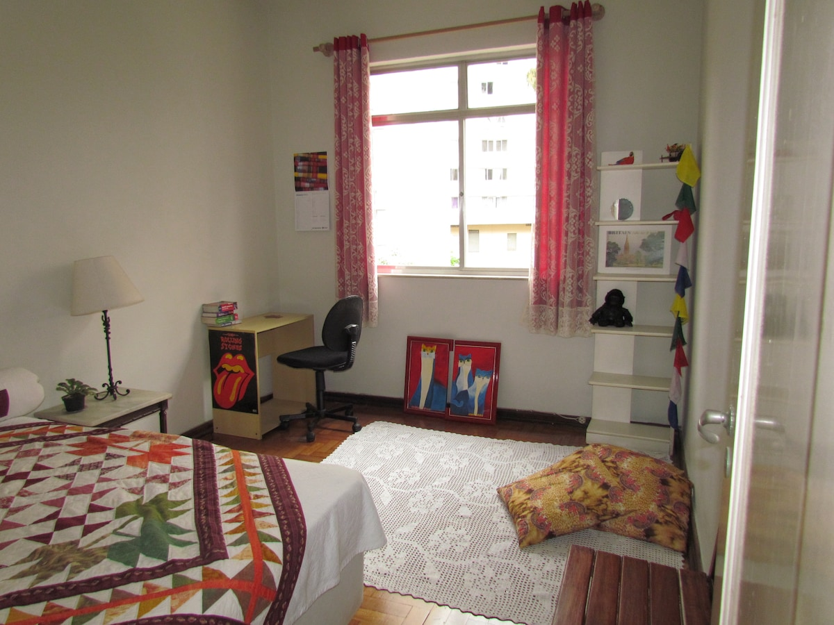 Bedroom one, spacious and comfortable