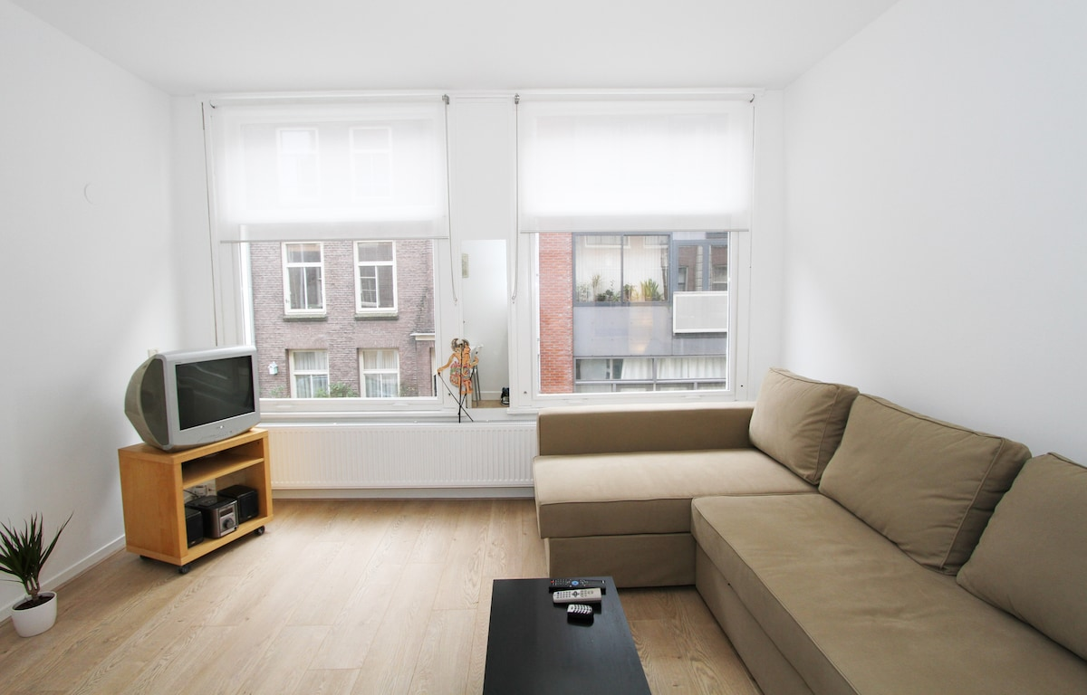 Fast wireless internet, cable TV and stereo are also available in the apartment.