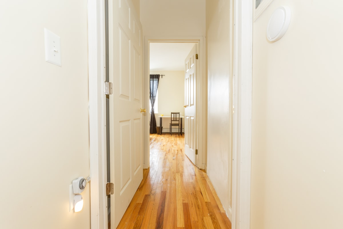 Your own private entrance allowing you all the privacy you want