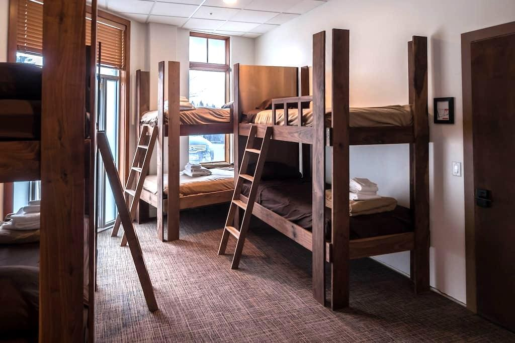 Park City Hostel: Deluxe 6 Bed Dorm - Park City - Dormitorio compartido