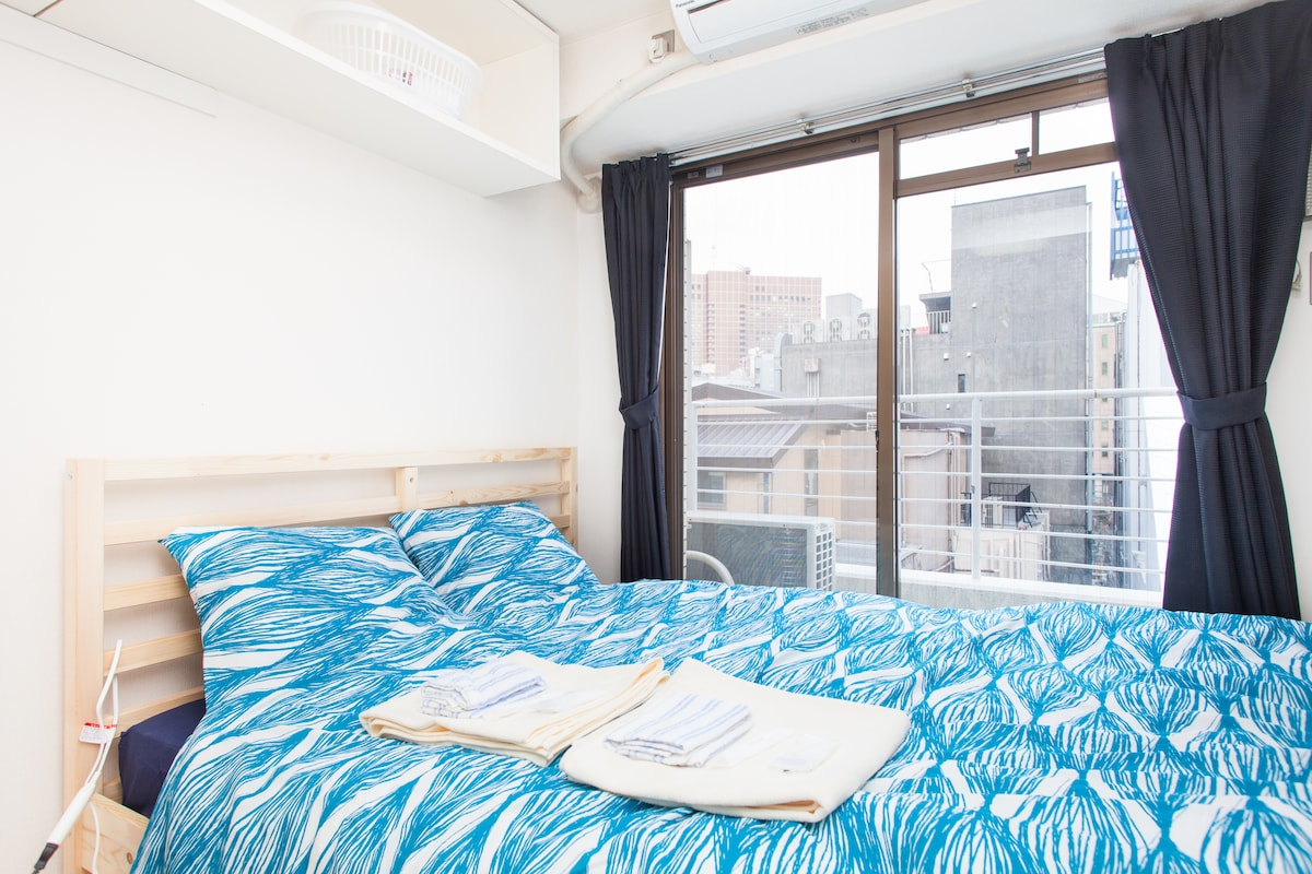 6mins walk- Shinjuku Center House