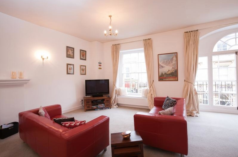 There is a large flat screen television with Freeview as well as a selection of DVDs, books and games.