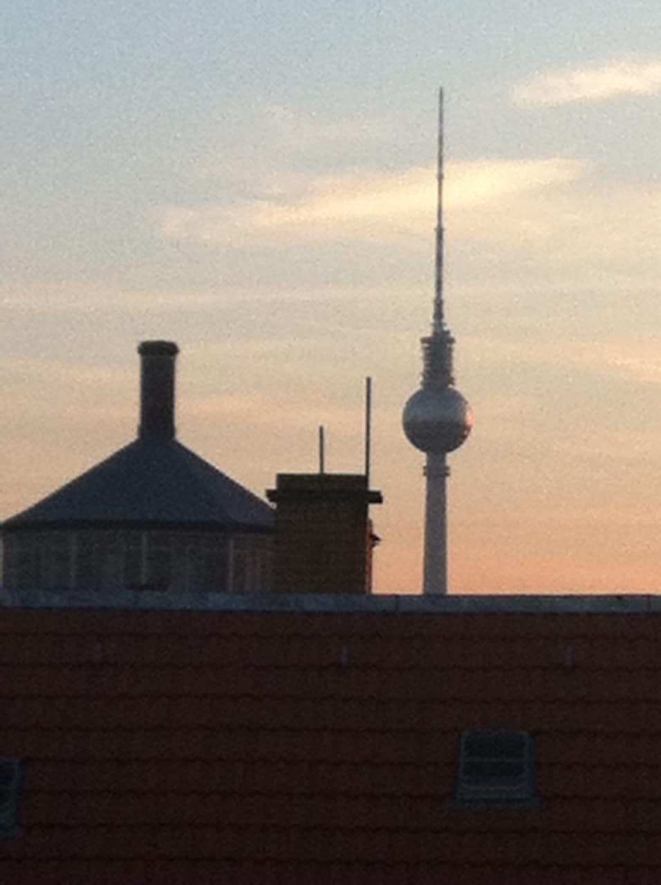 View from our rooftop terrace without any trees in front :-)