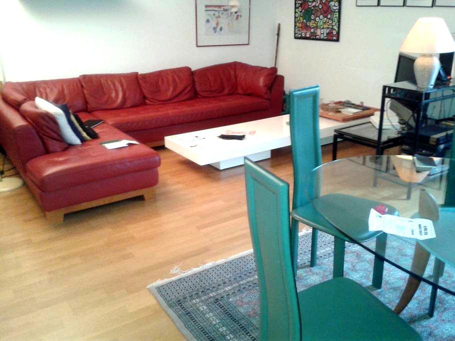 1 chambre au calme ds appartement du centre ville - Châteauroux - Apartment
