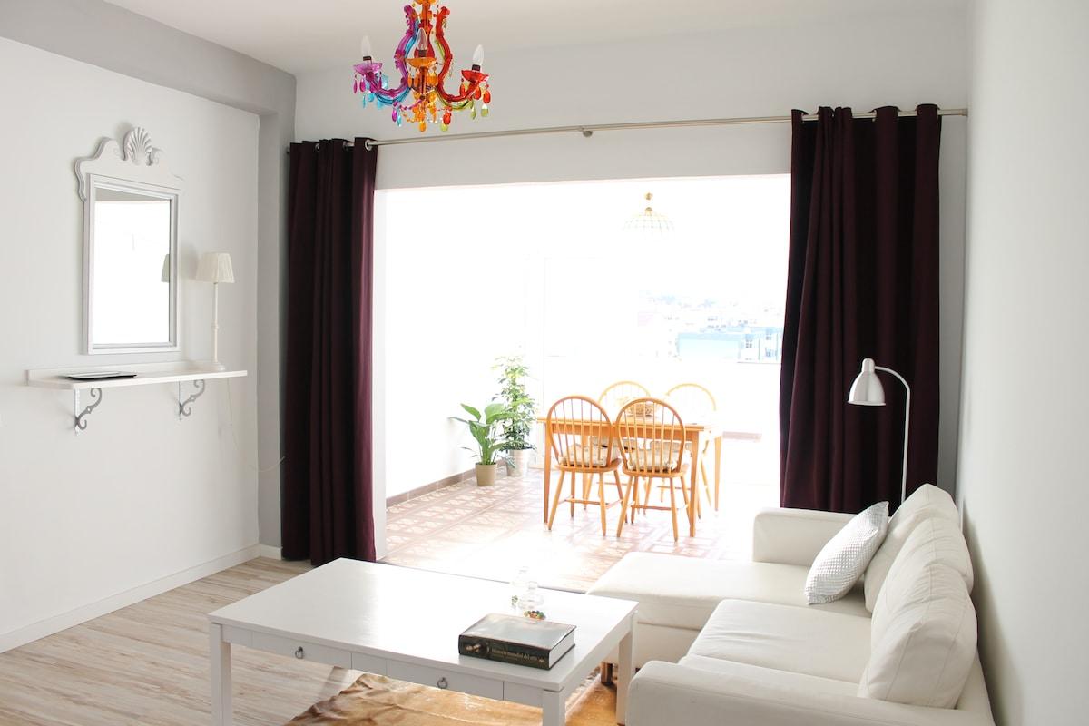 Terraced penthouse in La Laguna!