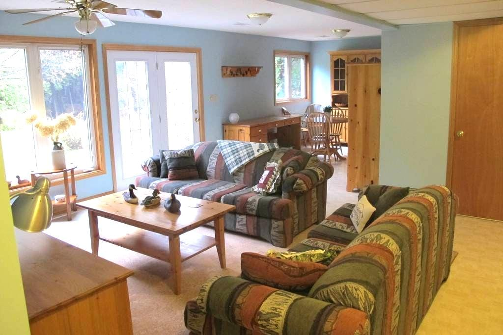 Beautiful Ski Country Apartment - Horning's Mills