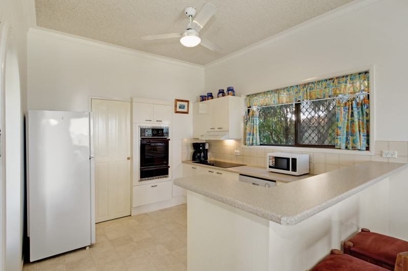Large kitchen, with walk-in pantry.