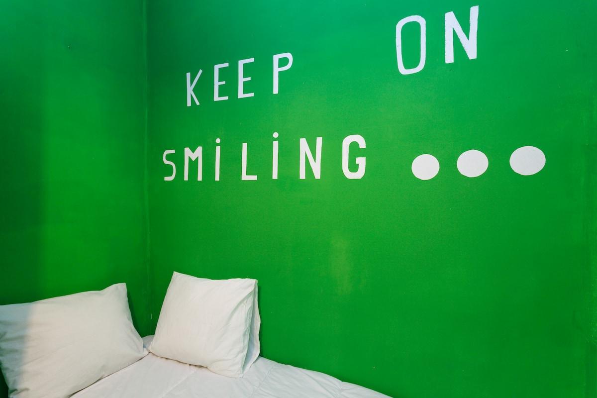 Green single room Plaza España