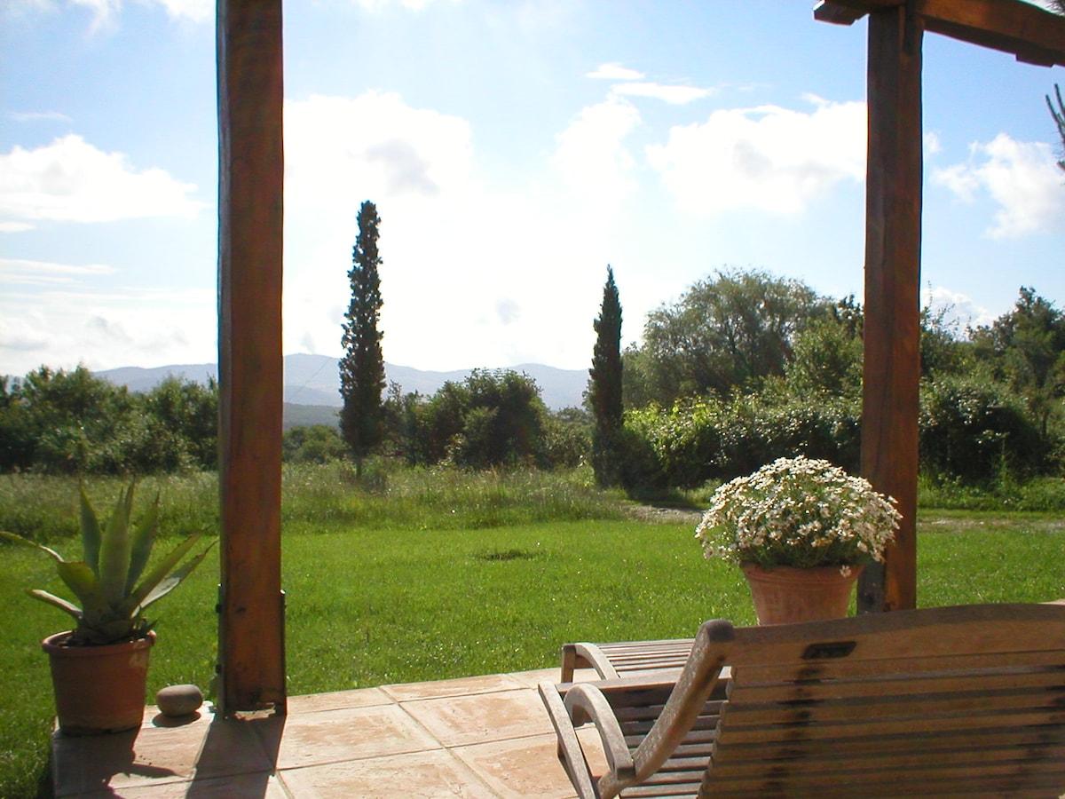 Romantic farmhouse,marvellous views