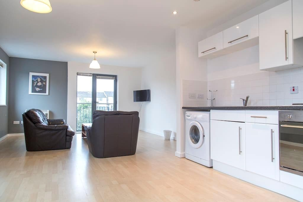 Amazing 2 Bed Apartment near Old Trafford and city - Salford - Lägenhet