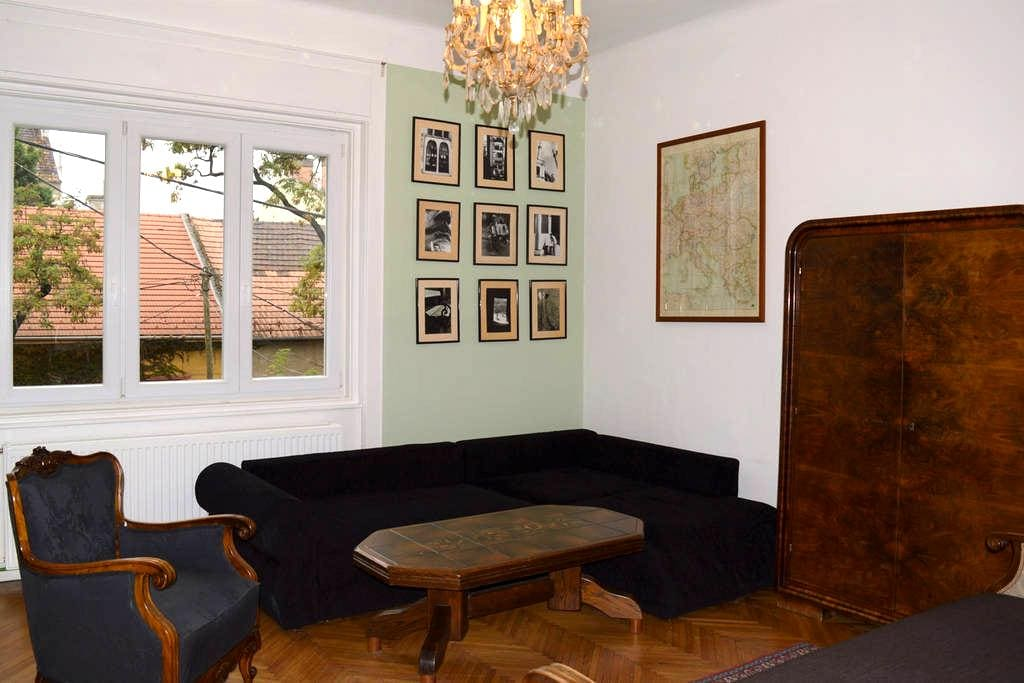 Buttonhouse - quiet apartment near the city - Budapest - Apartment