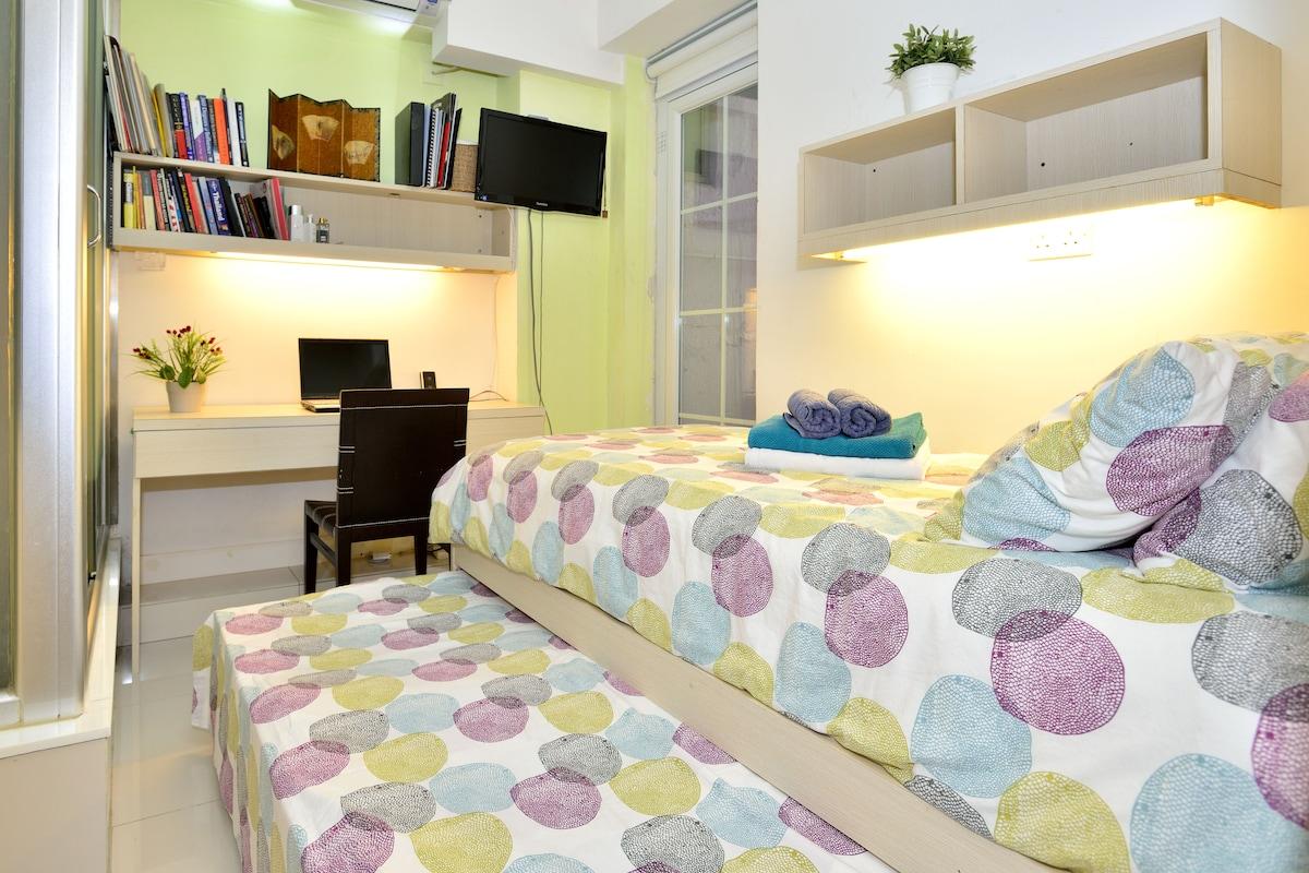 Cozy Sheung Wan Room 101