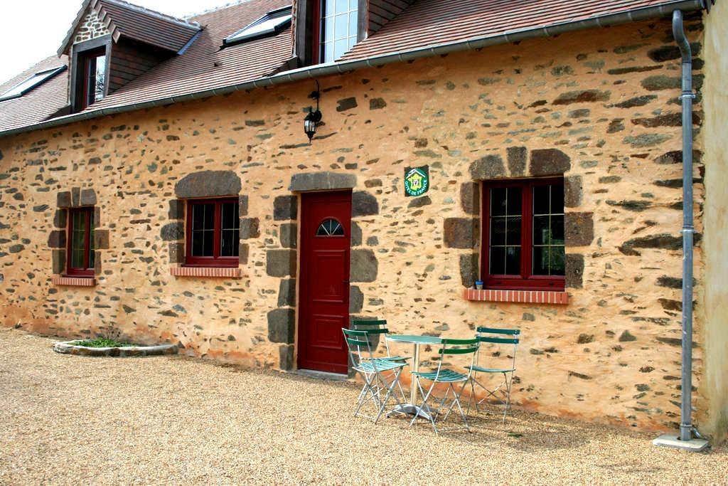 Gîte de la Souvelle 2 à 15 personnes - Saint-Georges-le-Gaultier