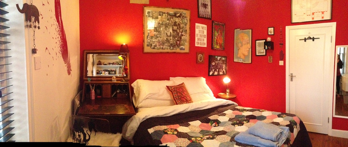 The red room!