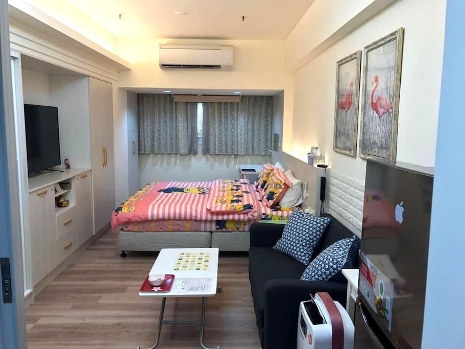 Kelly house 高雄捷运站全新[精致高档 豪华装潢]独立公寓 - Xinxing District - Appartement en résidence