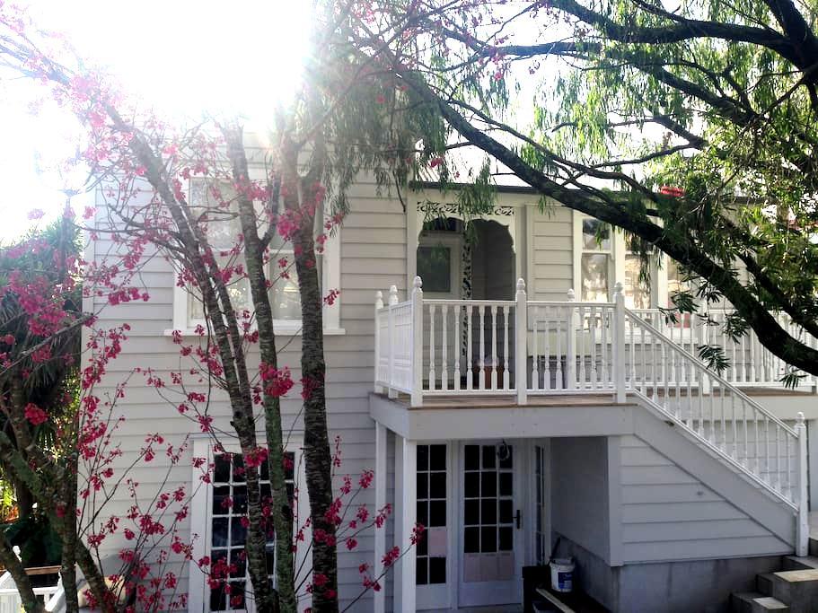 Artist's unique villa, sunny, central (5 min walk) - Auckland - Villa