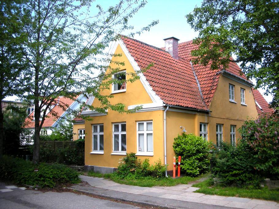 Townhouse with garden - Søborg