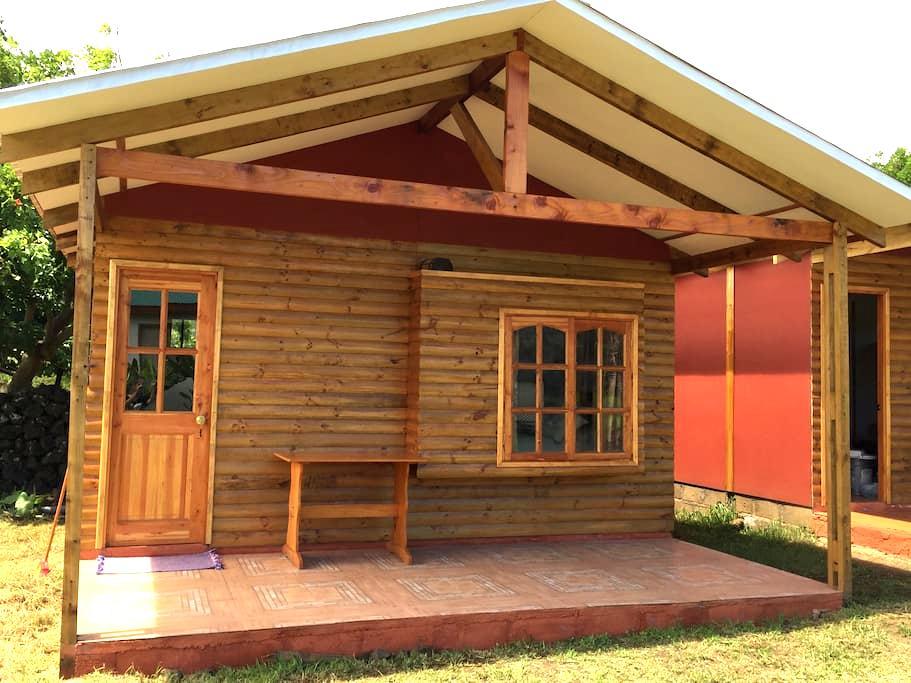 Cabaña Api - Hanga Roa - Blockhütte
