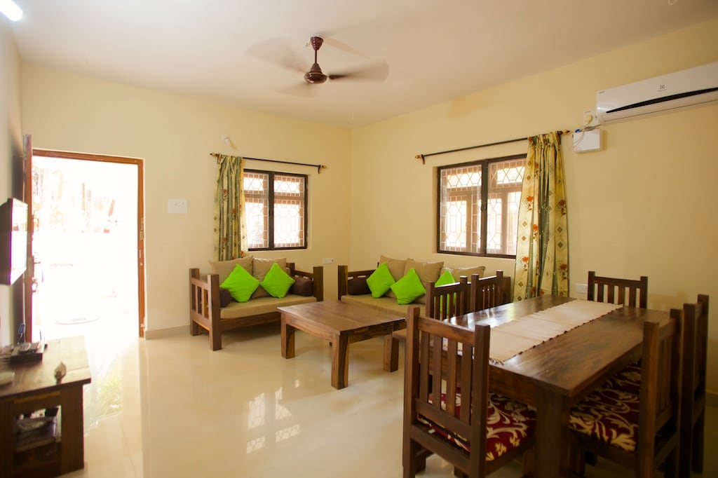 Tembe Wada Holiday Villa - living room