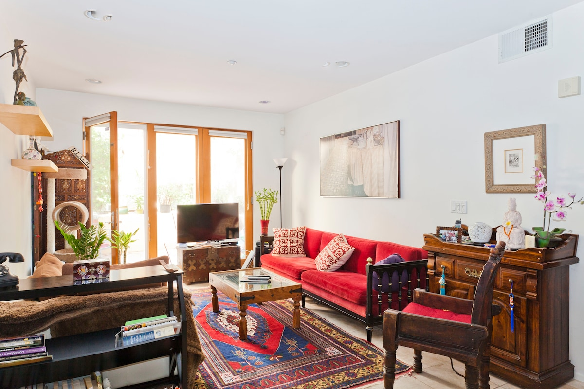 Living room, shared space