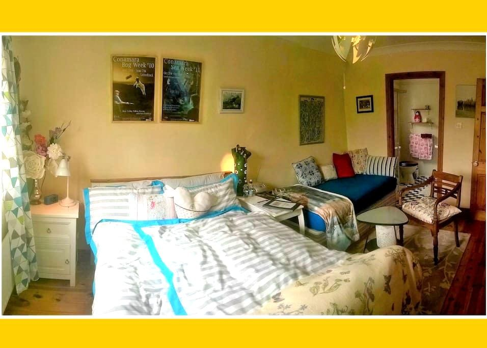En-suite double & single bed, breakfast included - Galway - House