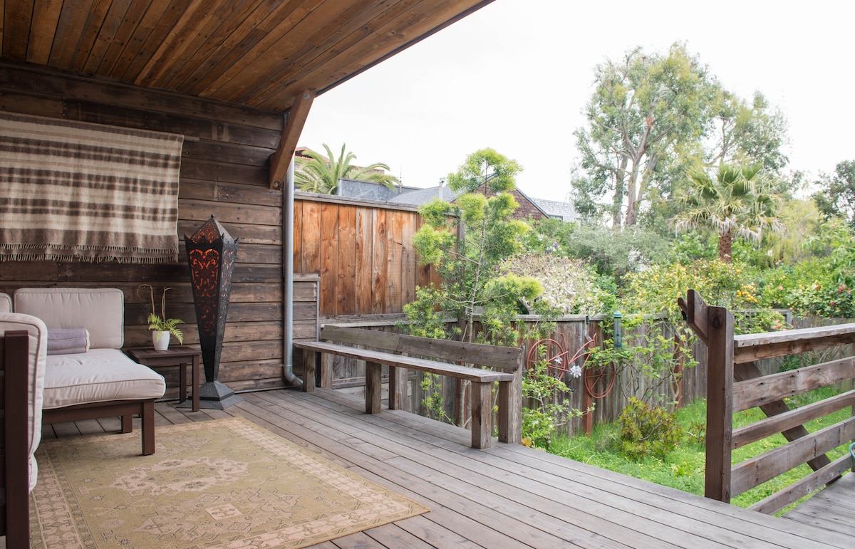 Peaceful Noe Valley home