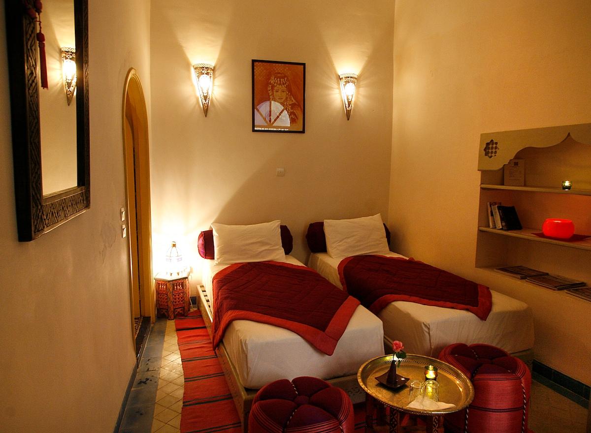 Chambre Zahia-Zahia room