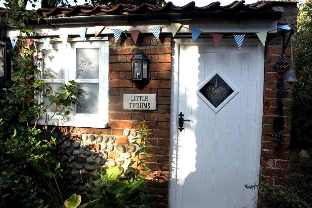 Quaint weavers brick & flint annex - Happisburgh - Aamiaismajoitus
