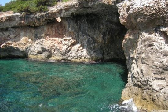 Vista grotte marine