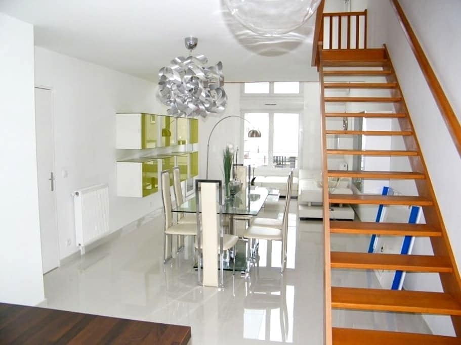 Chambre double dans bel appartement neuf - Stains