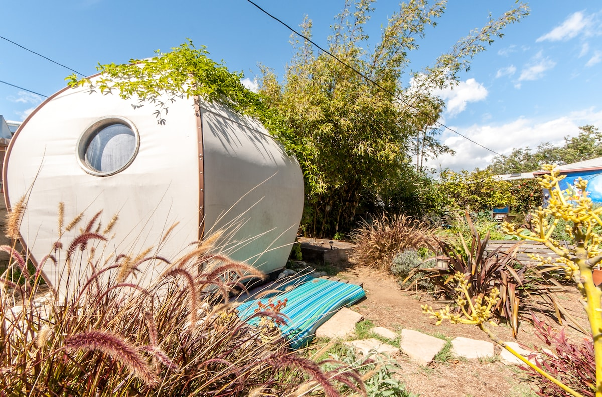 Sleep in an outdoor ECO Dwelling