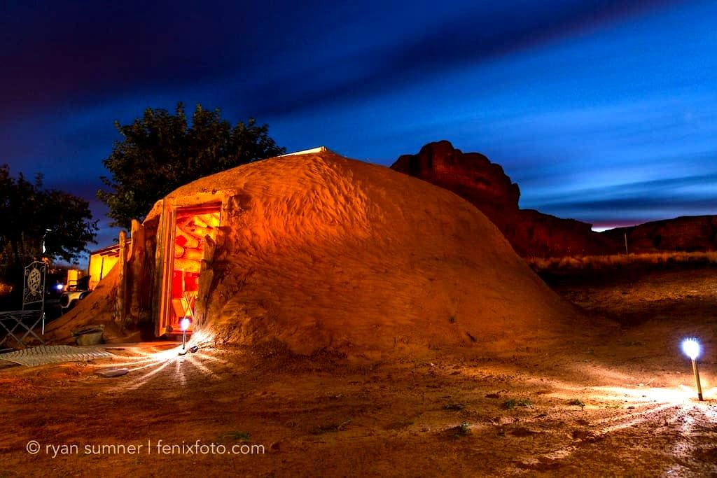 HoganBNB - Oljato-Monument Valley - Earth House