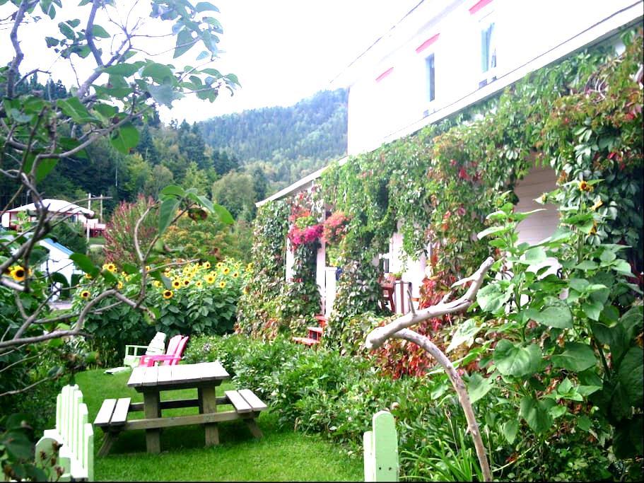 Gite Jardin Potager - Sainte-Rose-du-Nord